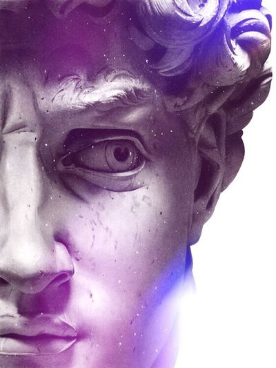Human Face Human Eye One Man Only Portrait People Art Gallery Abstract Arts Culture And Entertainment Art, Drawing, Creativity Abstract Art Grunge Art Vintage ArtWork Hello World Abstract Color Portrait Italy Close-up Illustration