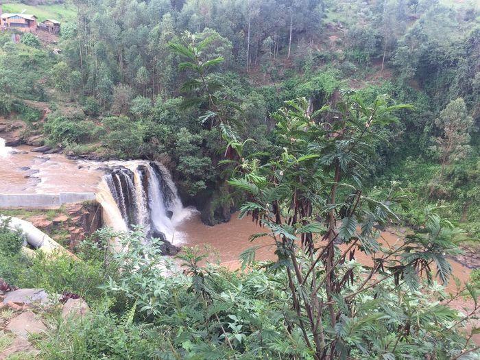 Kenya The Traveler - 2018 EyeEm Awards Waterdam Africa Beauty In Nature Flowing Water Land Nature No People Outdoors Scenics - Nature Water Waterfall