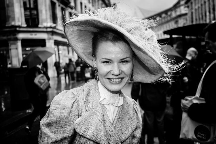 That smile Rawstreets Streetphotography Regentstreet Regentstreetms Streetportrait Maxgor Olympus Pen-f 35mm Blackandwhite Black And White Blackandwhite Photography Monochrome Monochrome Photography Only Women One Woman Only Adults Only Adult Happiness Smiling Young Women