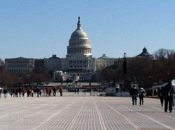 Jusr Left The Capital Of Washington Dc
