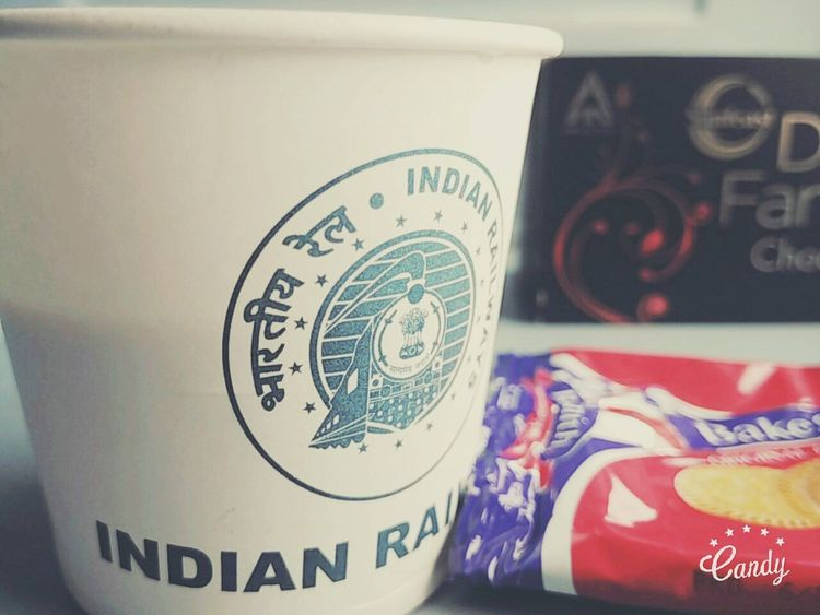 Coffee by Indian Railways. Close-up Still Life Coffee Time Indianrailwaysdiaries India
