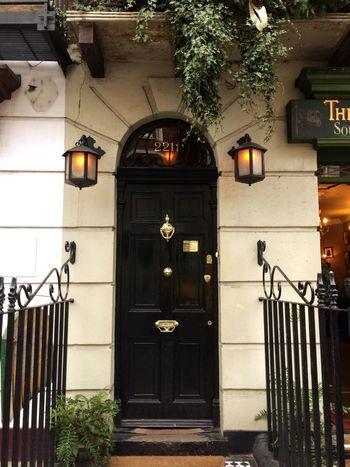221b of Baker Street. Hope to meet Sherlock 😍 London Sherlock Sherlockholmes Conandoyle Adventure