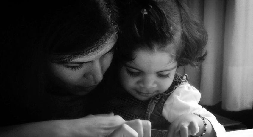 Mother & Daughter Togetherness Bonding Done That.