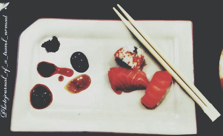 My undying love for Sushi ... Foodgasmic Foodgramming Vscophile Sushitime Birthdaysurpriselunch Lovestory EyeEm Best Shots Eyeem4photography Fishmeatfeast Foodphotography