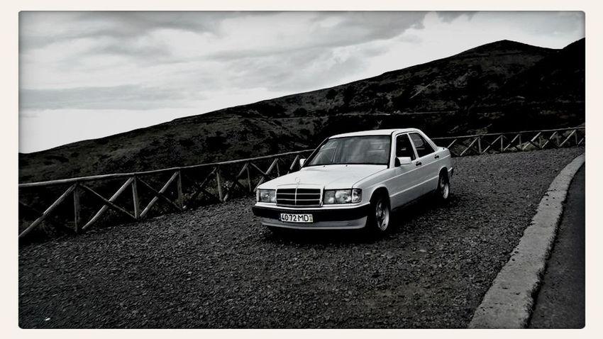 Mercedes-Benz Mercedes 190d Madeira,funchal Selfie