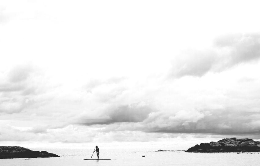 This is the grace we have, I have. Paddling Life Is A Beach Blackandwhite My Best Photo 2014