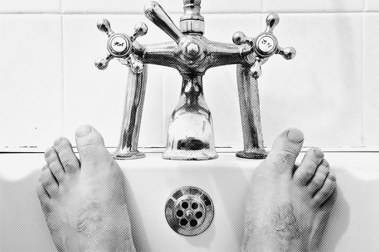 Bath Bath Tub Bathroom Close-up Faucet Feet Feetselfie Foot Human Body Part Hygiene Indoors  One Person People Real People Relax Relaxing Relaxing Moments Relaxing Time Tap Taps Toes Water