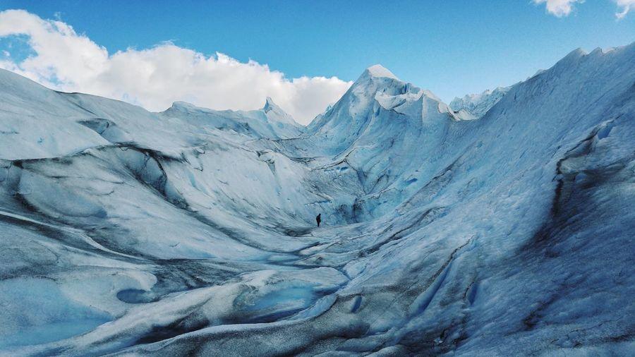 Perito Moreno Glacier Patagonia Argentina National Parc Los Glaciares Glacier Scenics - Nature Beauty In Nature Snow Cold Temperature Winter Tranquil Scene Landscape