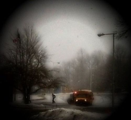 School bus Snow Student Yorktown NY