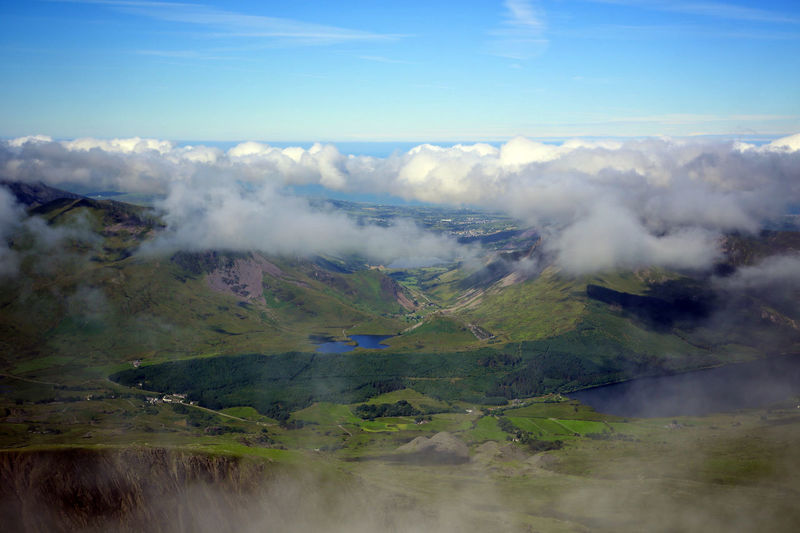 Wales Beauty In Nature Cloud - Sky Day Landscape Mountain Mountain Range Nature No People Outdoors Scenics Sky Snowdonia Tranquil Scene Tranquility