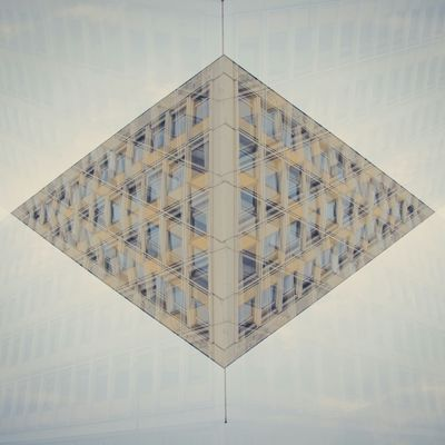 Double & Double Optical Illusion My Eyes My Berlin Pendulum Surrealism Plattenbau Amazing Architecture Geometric Shapes My Eyes For Architecture Phantasy City Cubus Methaphor Architecture Down The New Up NEM Submissions White Album Adventures Beyond The Ultraworld Muster Mix
