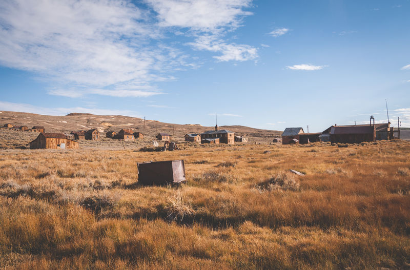 Ancient History Architecture Bodie Bodie Ghost Town California Day Ghost Town Horizontal Landscape Mountain Nature No People Outdoors Scenics Sky Tourism Travel Destinations
