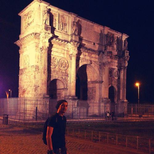 Arco Di Costantino Night Arco