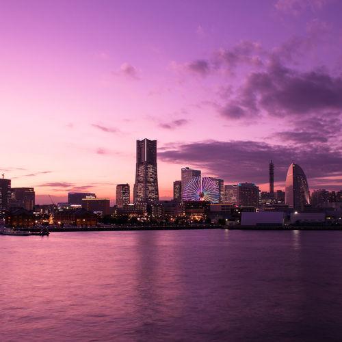 My Favorite Photo Yokohama, Japan Dusk Colours Dusk Sky Sunset ワタシイロ Eyemphotography EyeEm Best Shots - Landscape We_are_buddy We_are_buddy_Tm's_photo The Architect - 2016 EyeEm Awards