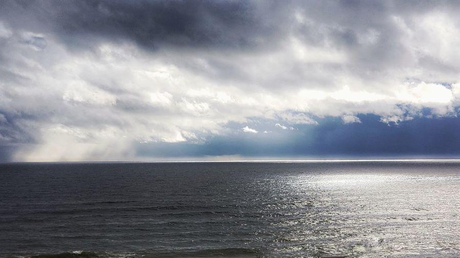 December afternoon Water Sea Storm Cloud Sky Cloud - Sky Landscape Calm
