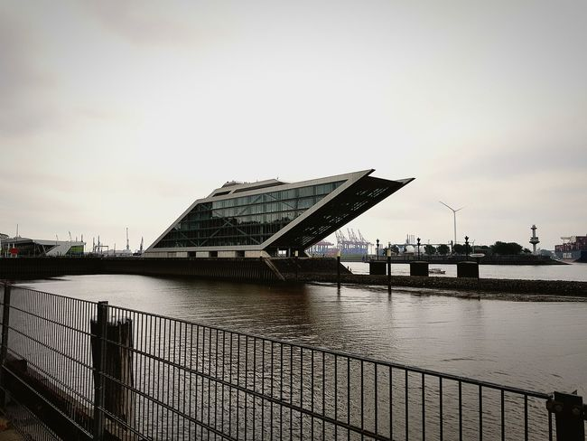 Water Sky Architecture Dockland City Outdoors Harbor