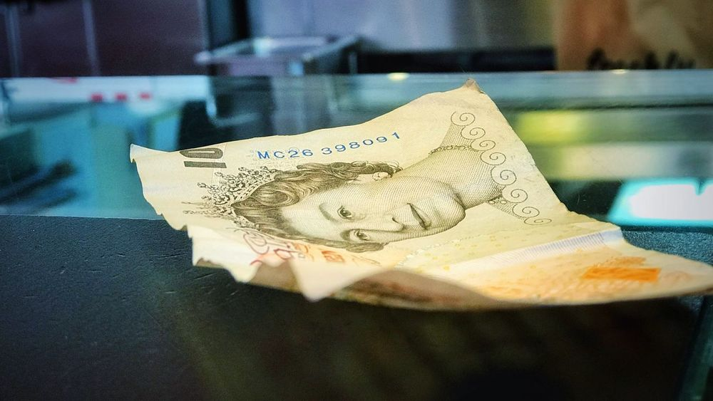 Tenner Ten Pounds Finance Currency Paper Currency Wealth Close-up Text Indoors  No People Coin Savings Day