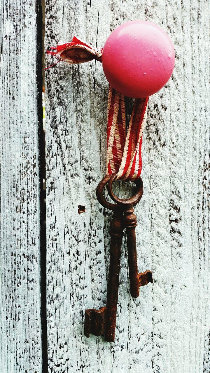 Close Up Of Old Keys