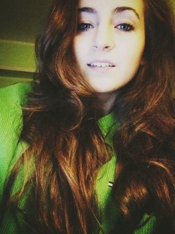 Stay positive :) Girl Smile Chilling Vscocam