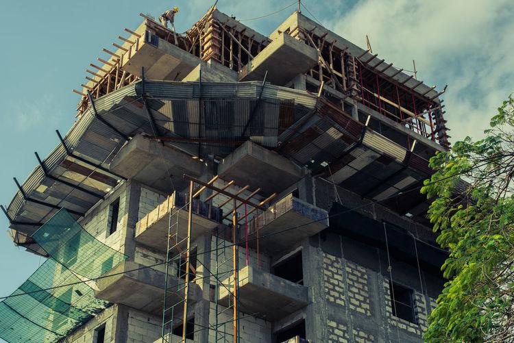 Edificio EyeEmNewHere So Worker Altura Corajud Sky Vertigo