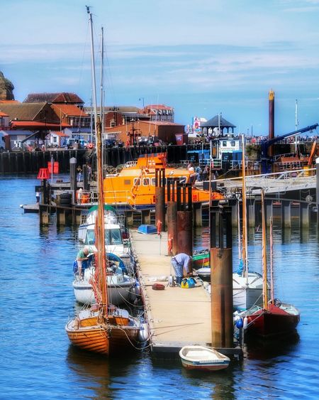 Live. Simple. Hanging Out Check This Out Relaxing Hello World Sea Water Fishboat Beautiful Holiday Blue Travel Seaside Citybreak Enjoying Life Harbour Uk Eastcoast Explore Beautifulplace Dock Aroundeurope