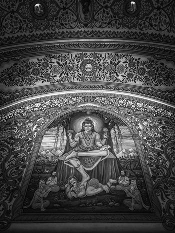 Shiv in peace Meditation