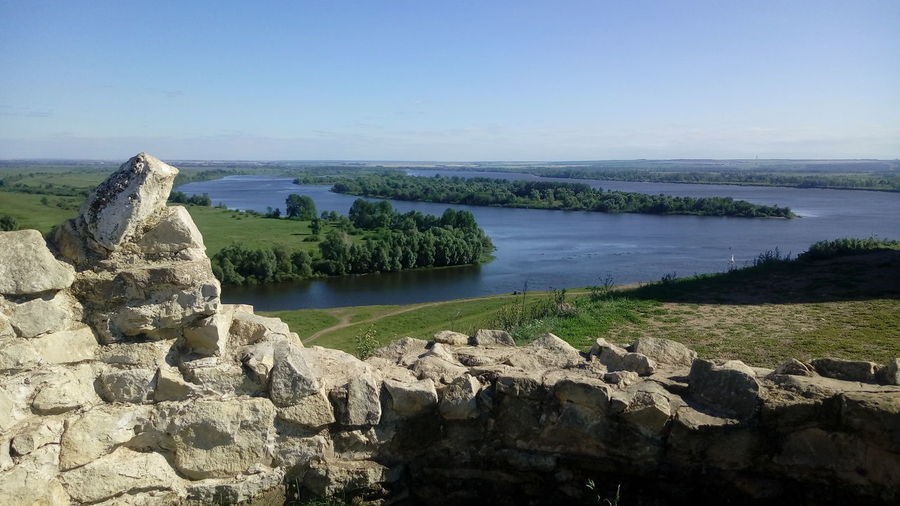 River Nature Summer Beautiful Nature Russia Beautiful Russia River View Travel Beautiful View Blue Sky Yelabuga Yelabuga Attraction Fortress Remnants Devil's Ancient Settlement Panoramic View Panoramic The Medieval Devil Tower In Yelabuga Confluence Of Two Rivers Rivers Confluence Of Kama And Toyma Rivers Water Sky Landscape Horizon Over Water My Best Photo 17.62°