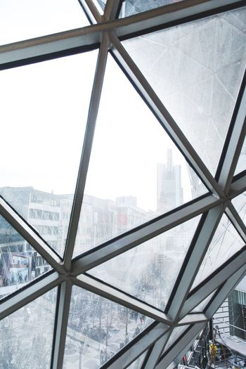 City Architecture Cityscape Built Structure Skyscraper Window Day Modern Winter Snow Building Exterior Outdoors No People Cold Temperature Urban Skyline Sky Nature