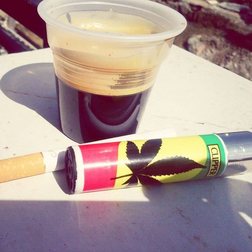 Coffee And Cigarettes Clipper Collection Enjoying Life Relaxing Time
