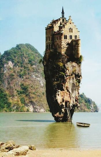 Sea Tourism Clear Sky Tower History Scenics Architecture Beauty In Nature Very Special Tower!!!!! Love It... Uniqueness