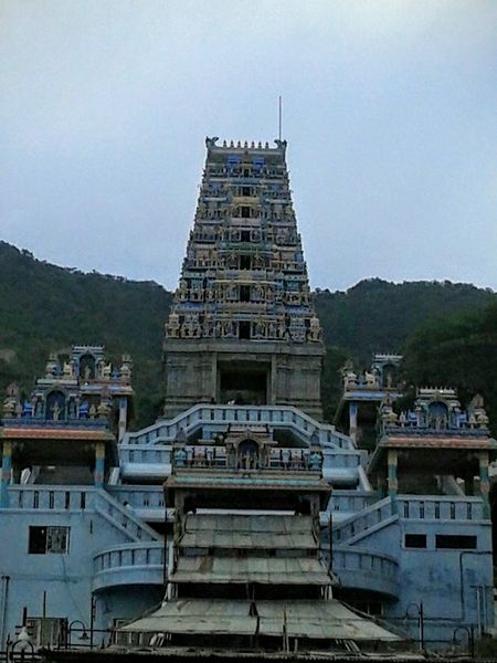 Lord Muruga's temple called Marudamalai Architecture Built Structure Exterior Hinduism Marudamala Mountain Murugantemple No People Outdoors Temple - Building Travel Destinations