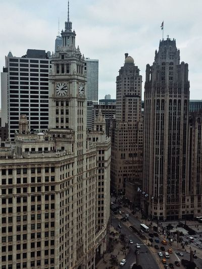 The Wrigley Building from London's House Architecture Built Structure City Chicago Chicago Architecture Chicago River USA Streetphotography Streetphoto Street Photography Building Illinois First Eyeem Photo