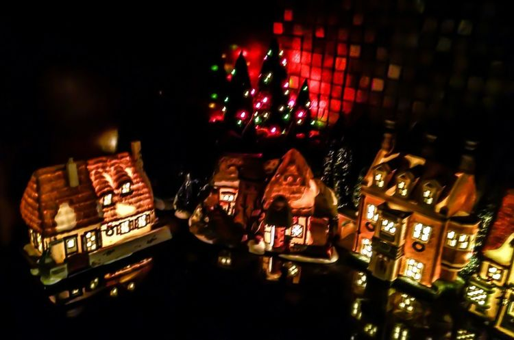 Holiday Decorations Holiday Photography Christmas Photography Christmas Village Christmas Town Christmas Christmas Tree Night Celebration Illuminated Christmas Decoration Tradition Christmas Lights EyeEm Ready   Shades Of Winter