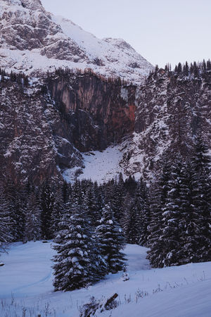 Shades Of Winter Beauty In Nature Cold Temperature Frozen Landscape Mountain Nature No People Outdoors Scenics Snow Snowcapped Mountain Winter