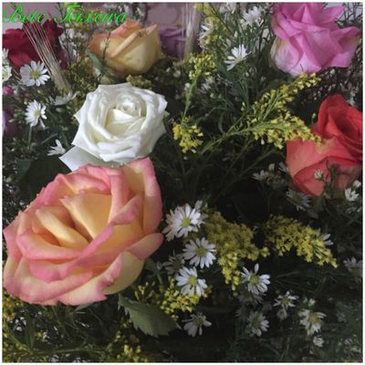 Flowers 2 Flower Rose - Flower Bouquet Springtime Rosé Bunch Of Flowers