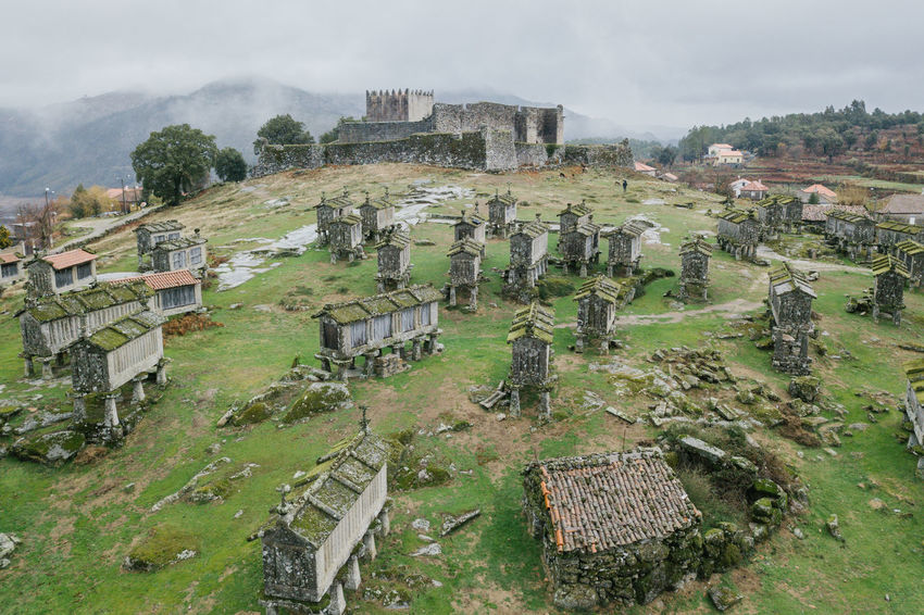Arcos de Valdevez / Lindoso / Peneda Geres / Ponte da Barca / A Senhora Do Monte Arcos De Valdevez DJI Mavic Pro DJI X Eyeem Drone  Lindoso Peneda-Gerês National Park Aerial Aerial View Ancient Ancient Civilization Architecture Building Exterior Built Structure Castel Cemetery Damaged Day Dji Dronephotography Graveyard History Landscape Nature No People Old Ruin Outdoors Ponte Da Barca Sky The Past Tree