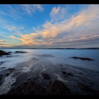 Maraetai Newzealand Aoteoroa Landscape Sunset photography lucroit seascape