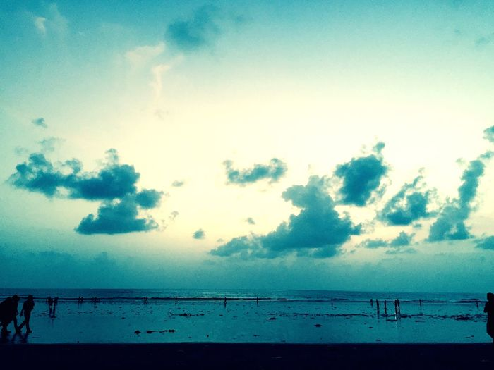 It's where you see the beauty of it but still you try to destroy it, Juhu beach , mumbai
