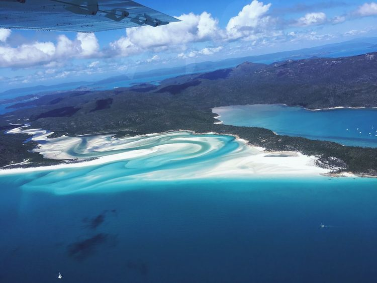 Landscape Scenics Beauty In Nature Sea Tranquility Aerial View Water Blue Second Acts