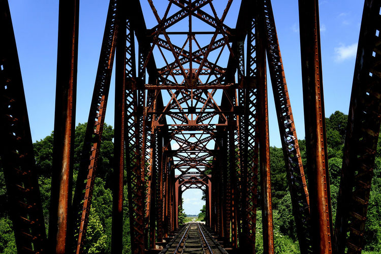 Greenwood, Ms Americana Architecture Bridge Long Metallic Mississippi  Mississippi Delta Outdoors Railway Bridge Roadtrip Symmetry Tourism Travel Travel Destinations Travel Photography