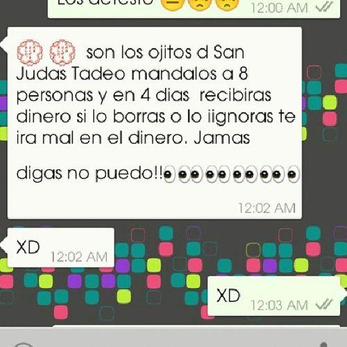 ._. Cadenas de whatsapp las detesto WhatsApp Cadenas Loodio