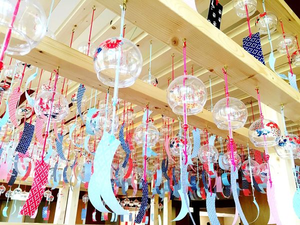 Summer Summerend Colors Colorful Windchime Bell Glass Glass Art Healing Japan Japan Photography