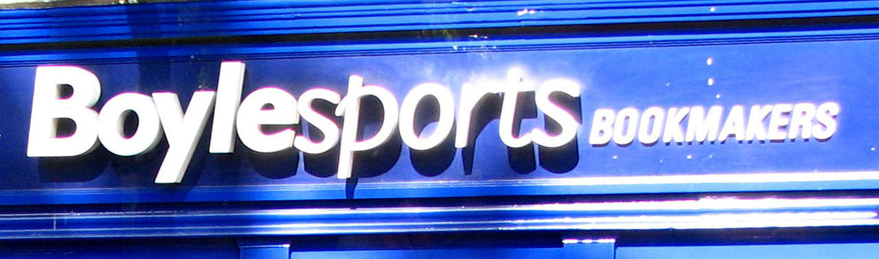 Bookmakers Sign Dublin City Shop Sign Blue Blue Sign Close-up Communication Day Illuminated Neon No People Outdoors Sports Text Western Script