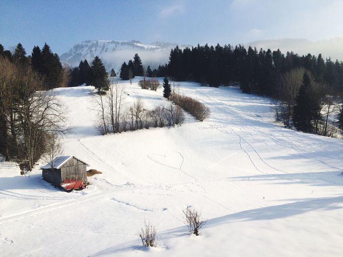 Austria Winter Alpen Snow