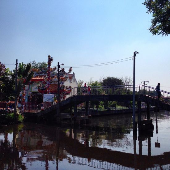 Bridge Oldtown Chinese Town