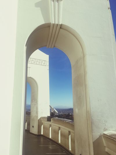 Hollywood CA Observatorium Arch Built Structure Architecture No People Day Indoors  Water