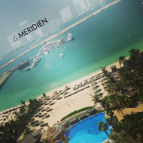 Welcome back.... Lemeridien Starwood Tan Palm pool drinks betterwhenshared spg SPGlife travelling travel travelgram instatravel beach beachlife tanning sun summer sunshine
