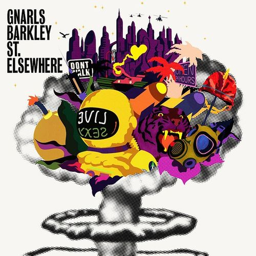все новое - хорошо забытое старое. спасибо @d307from313 за напоминание о прекрасных GnarlsBarkley и их шедевральном StElsewhere . не могу наслушаться JustAThought WeirdMusic