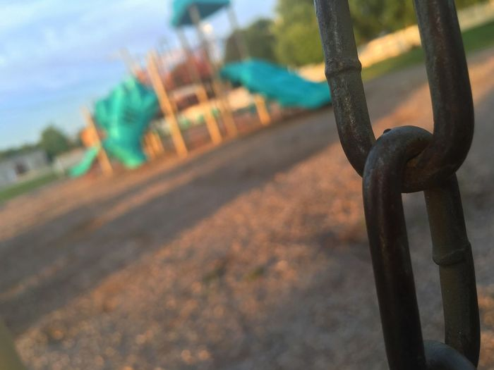 Chained Away From Our Childhood Life Sad Childhood Chain Park