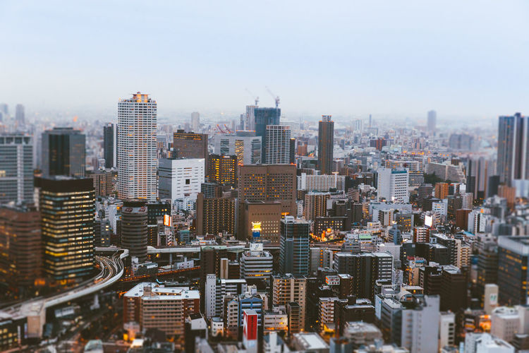 Downtown Japanese Culture Architecture Building Building Exterior Built Structure City City Life Cityscape Crowd Crowded Financial District  Landscape Modern Nature Office Building Exterior Outdoors Residential District Settlement Sky Skyscraper Tall - High Tower Urban Skyline